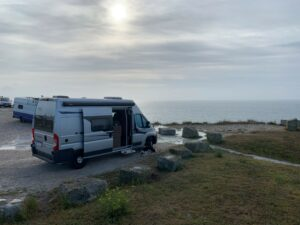 Camper Van DISCOVERY on tour