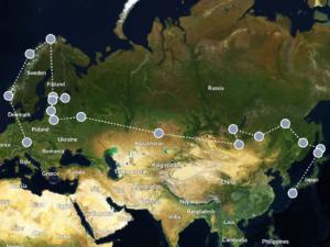 Weltreise Planung auf Polarsteps